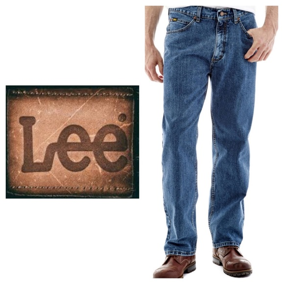 Lee Other - LEE▪️Men's Relaxed Fit Blue Jeans Sz-42/32